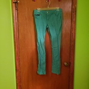 🎉 Girls Green/Teal Jeans